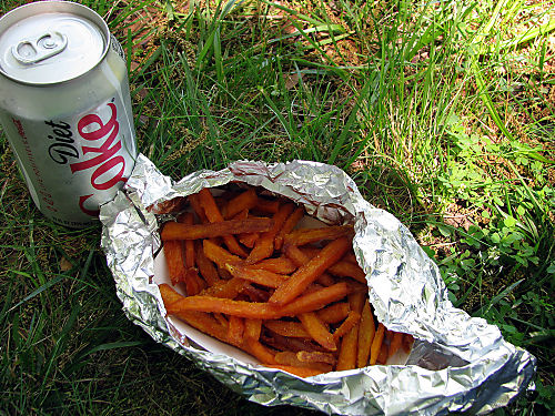 Belle Isle Fries and Coke