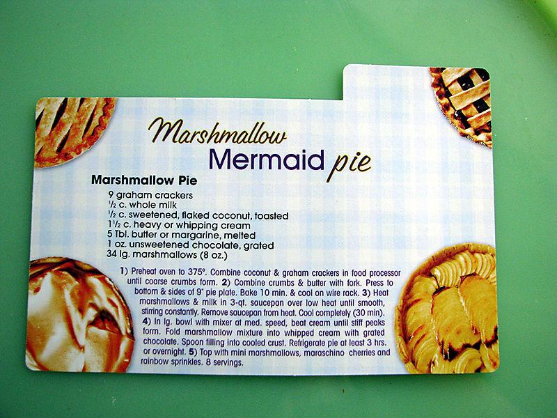 Marsh Pie recipe