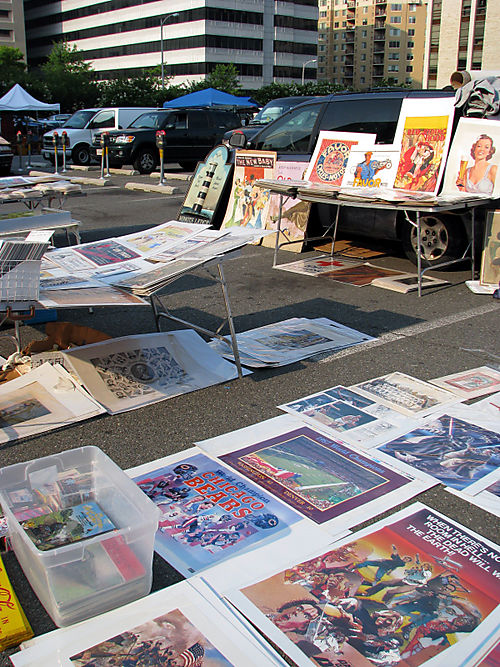 G-town Flea prints