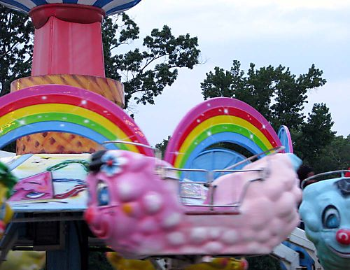 Carnival pink ride