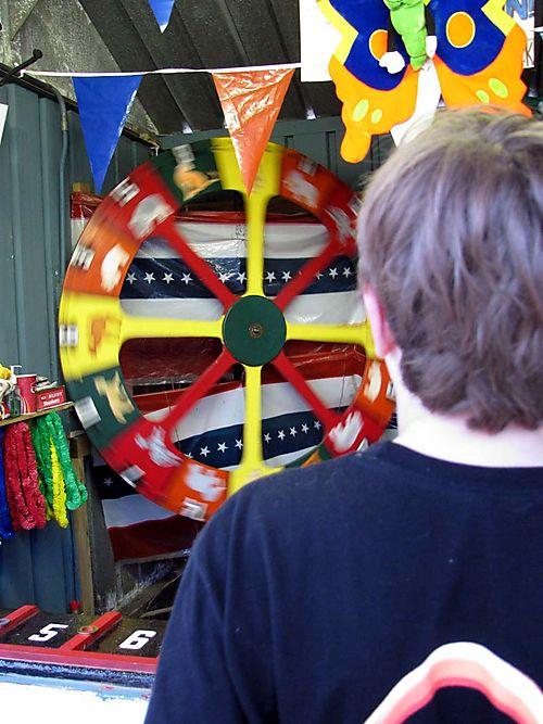 Carnival Owen wheel game
