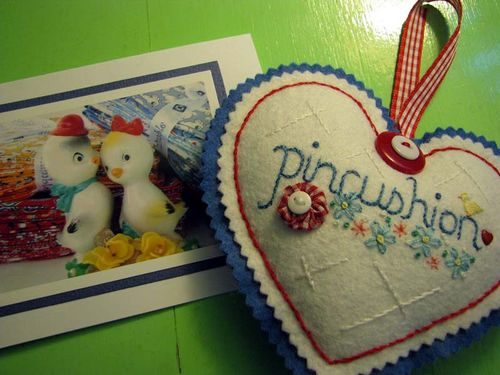 Gift Pincushion w card
