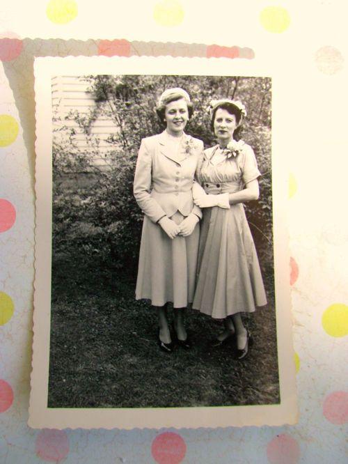 Mom and Kaka Corsages 1952