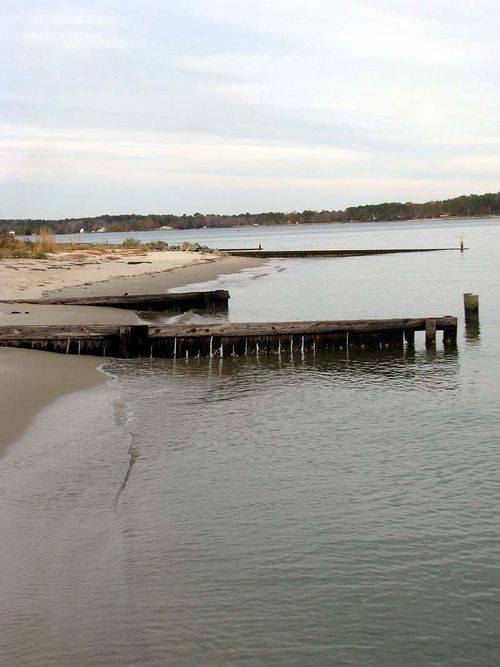 River bayside