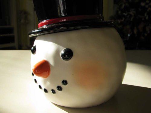 LR Snowman container