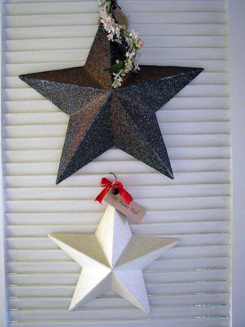 LR stars on door