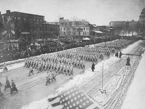 West_Point_cadets,_Woodrow_Wilson_inaugural_parade,_1913