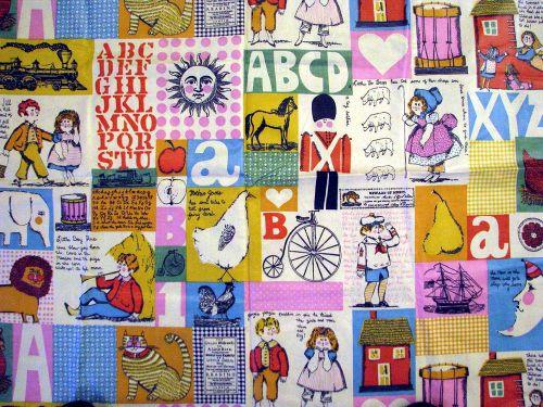 Thrift 1-29 fabric