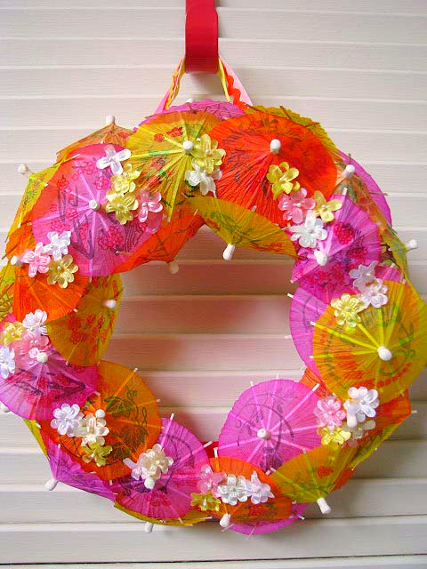 Umbrella Wreath 1