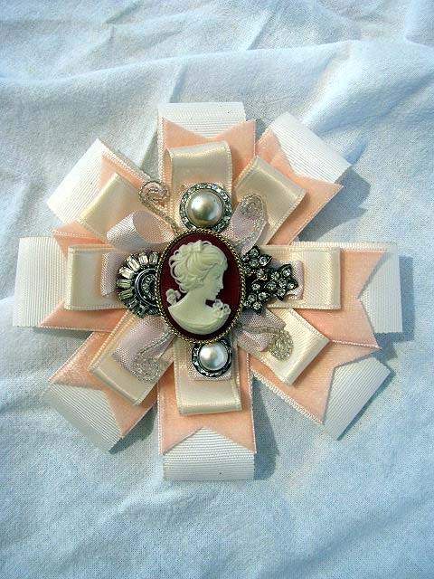 Cameo Corsage 1