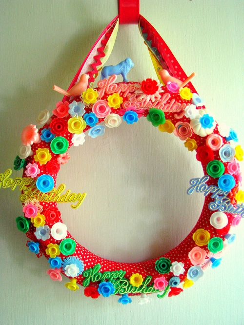 Birthday wreath 1