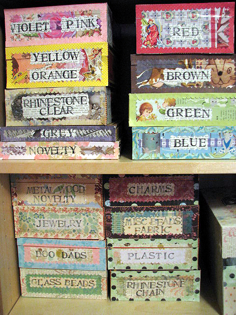 Studio cigar boxes