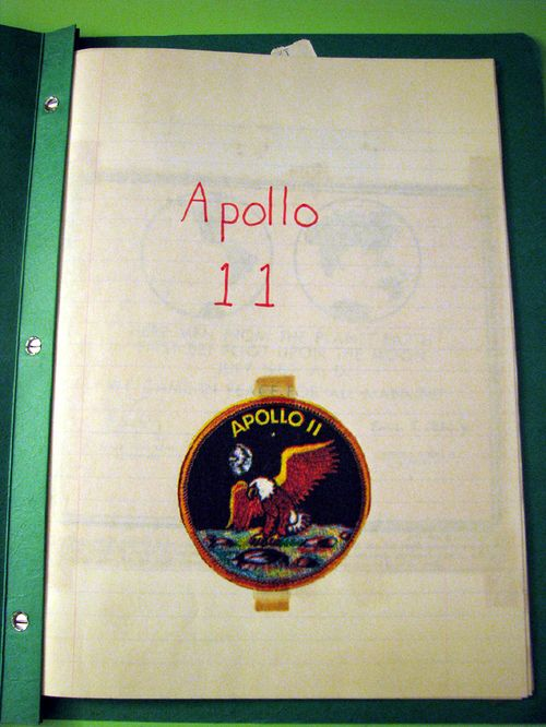 Apollo scrapbook