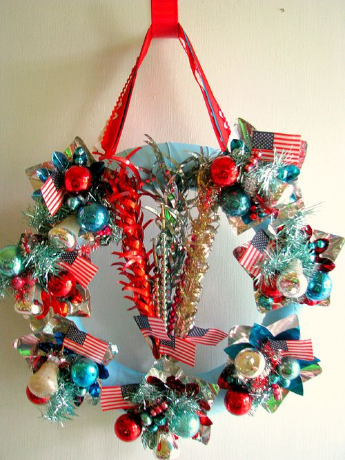 4th of July Wreath 1