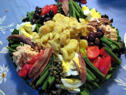 Dinner salad n