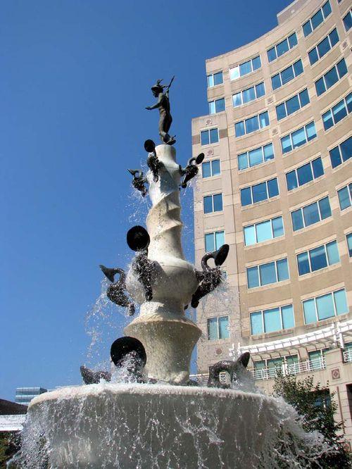 Reston fountain