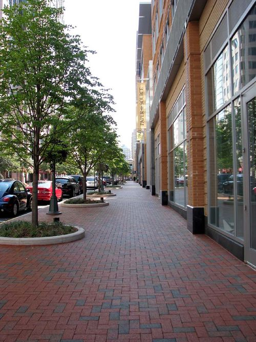 Reston sidewalk