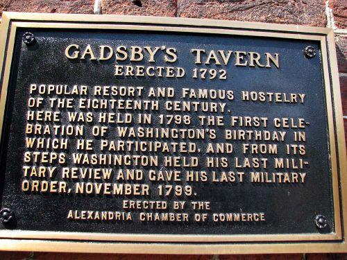 Gadsbys plaque