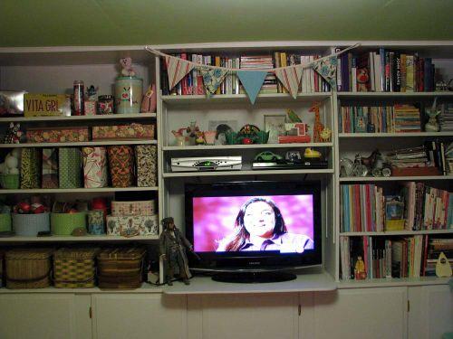 Shelves done