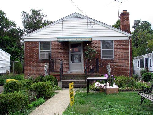 Estate sale house