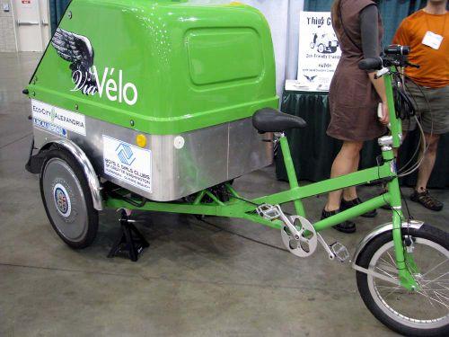 Green Fest rickshaw