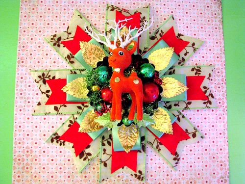 Deer Corsage Hanging 1