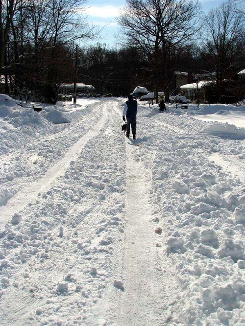 12-20 Snow road