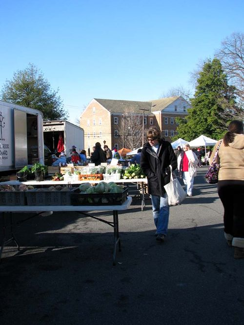 Winter Farmers Market overview