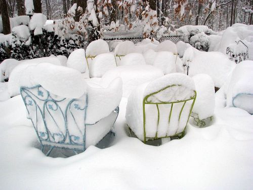 2-6 snow chairs