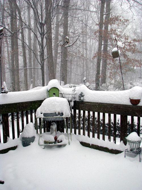 Snow deck 1 pm