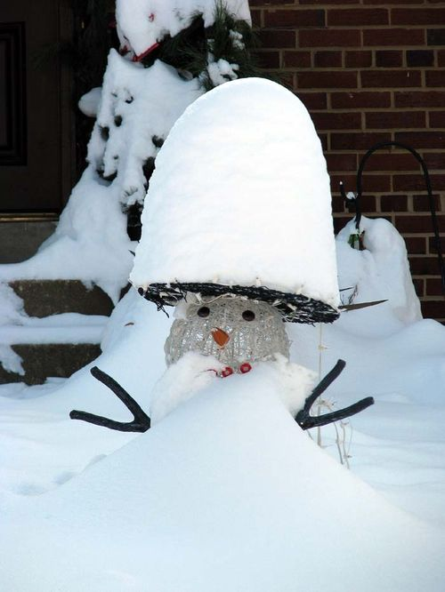 12-20 Snow Snowman