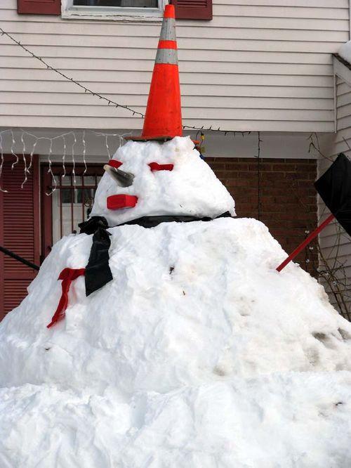 Big Snowman close