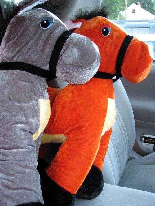 Kilmarnock Carnival horses