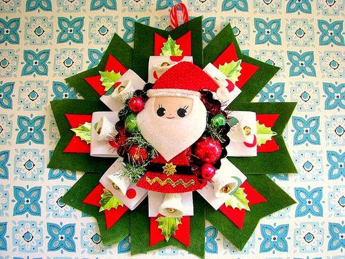 Santa Tart Corsage