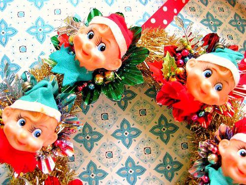 Elf Gold Wreath 2