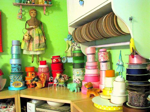 Corner shelf after