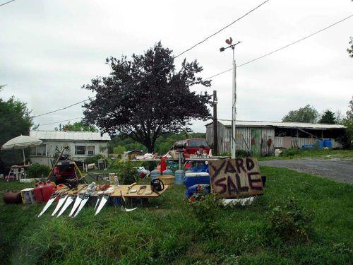 Yard crawl trailer