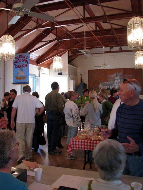 Wicomico Parish day hall