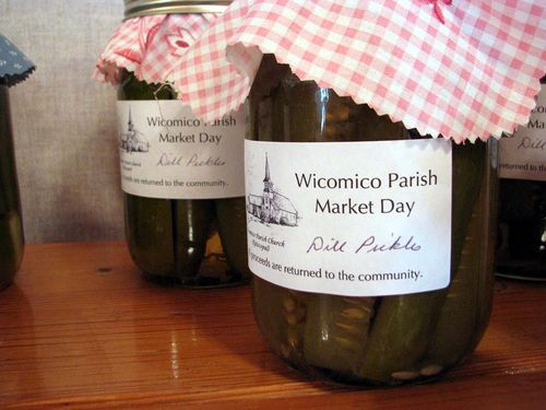 Wicomico Parish day pickles