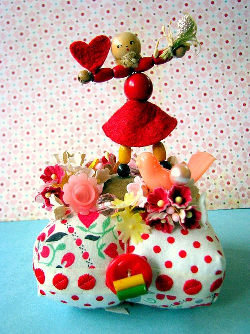 Valentine bead girl PC