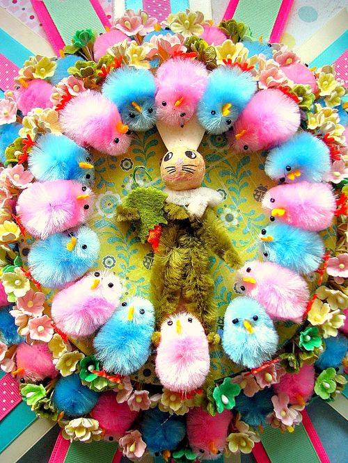 Bunny Chick Wall Hanging 2