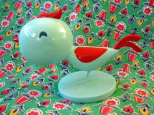 Feedsack and Bird