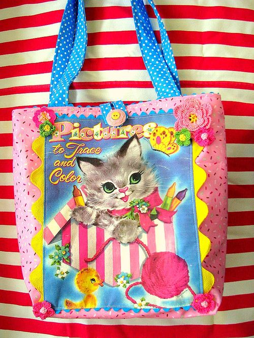 Kitty CB Tote 1