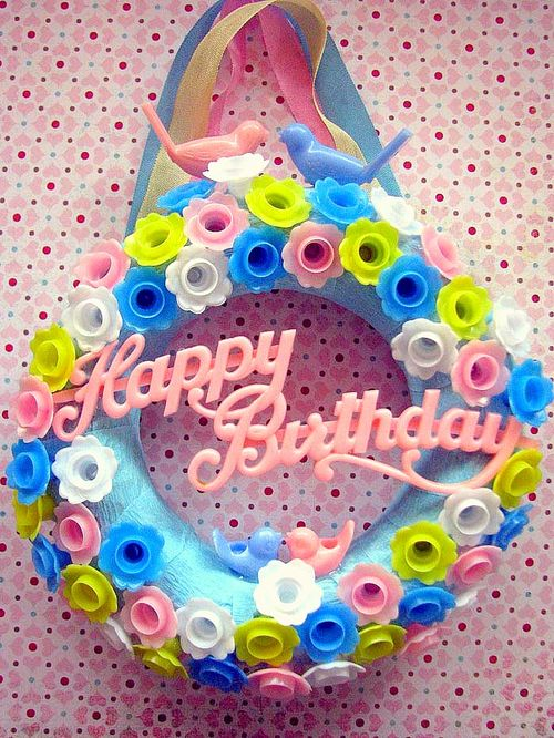Birthday  Mini Wreath 1