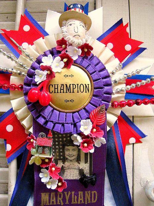 Champion ribbon 2