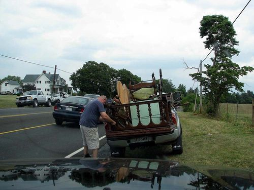 Yard Crawl dude and truck