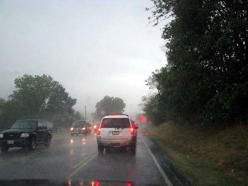 Yard Crawl Toms Brook rain