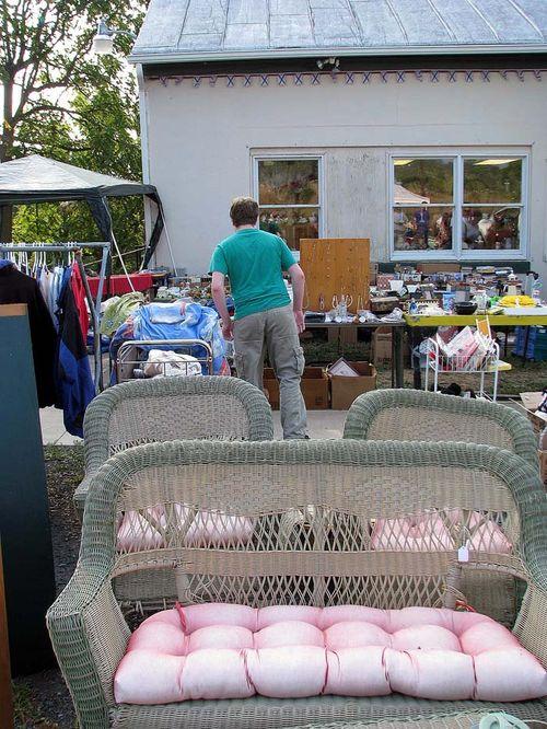 Yard Crawl Owen shopping