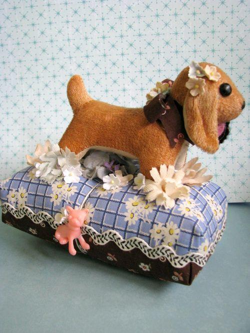 Plush dog pc 1